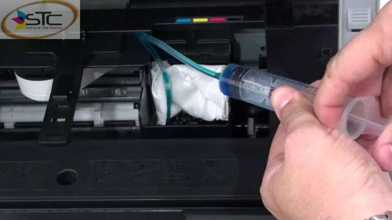 Como Mantener los cabezales de impresión limpios